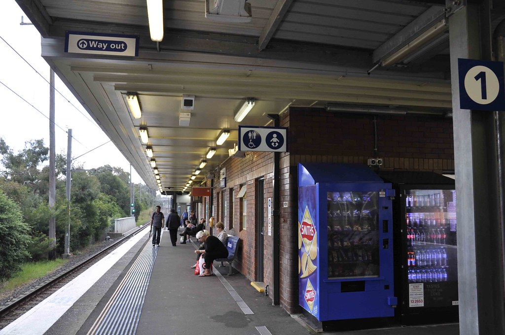 Sydney Trains T4 The Cronulla Branch Platform 1 Mira