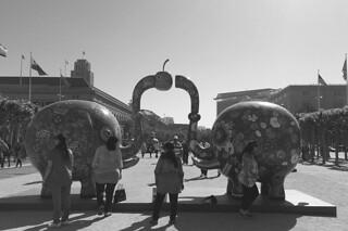 Fancy Animal Carnival - Sharing Elephant bw