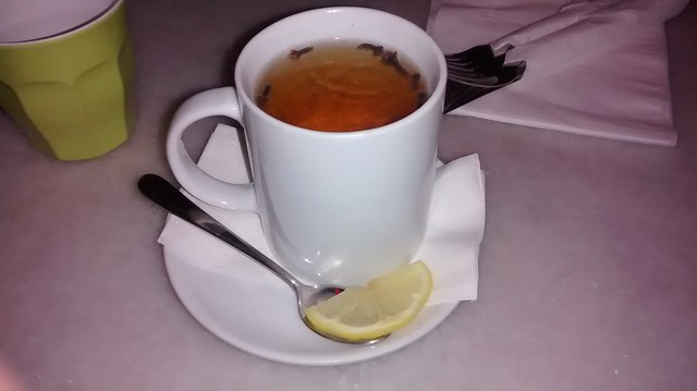 hot cider with cloves
