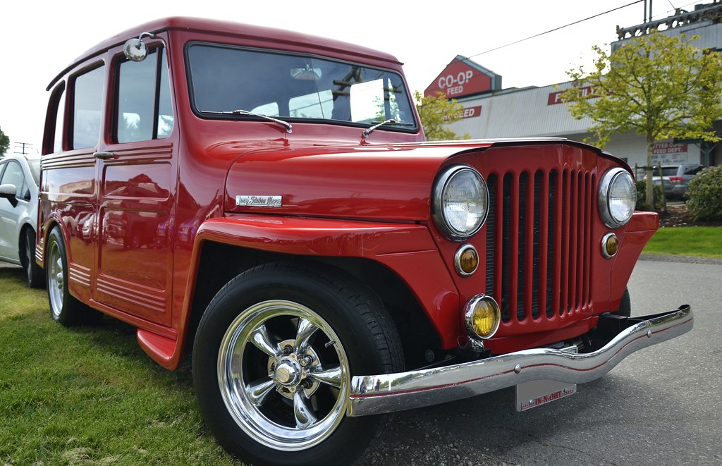 1946 Willys Overland Jeep Station Wagon Customcab Flickr