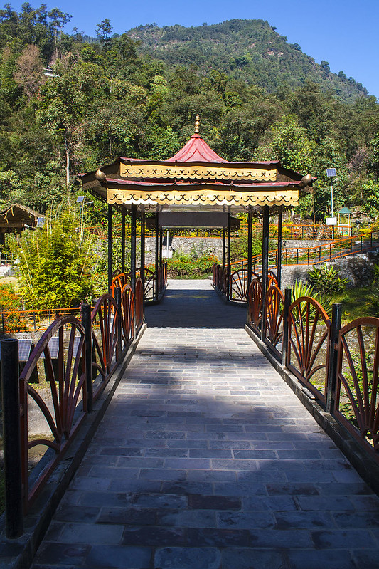 Ban Jhakri Falls Energy Park (Front View) - Gangtok, Sikkim