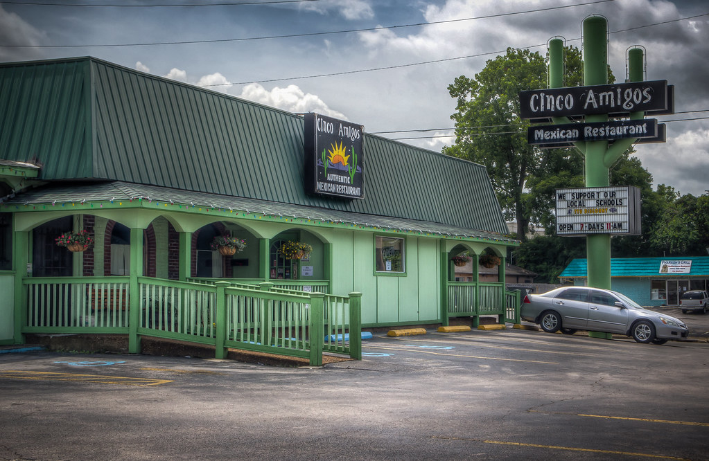 Cinco Amigos Mexican Restaurant Cookeville Tn Donnie King Flickr