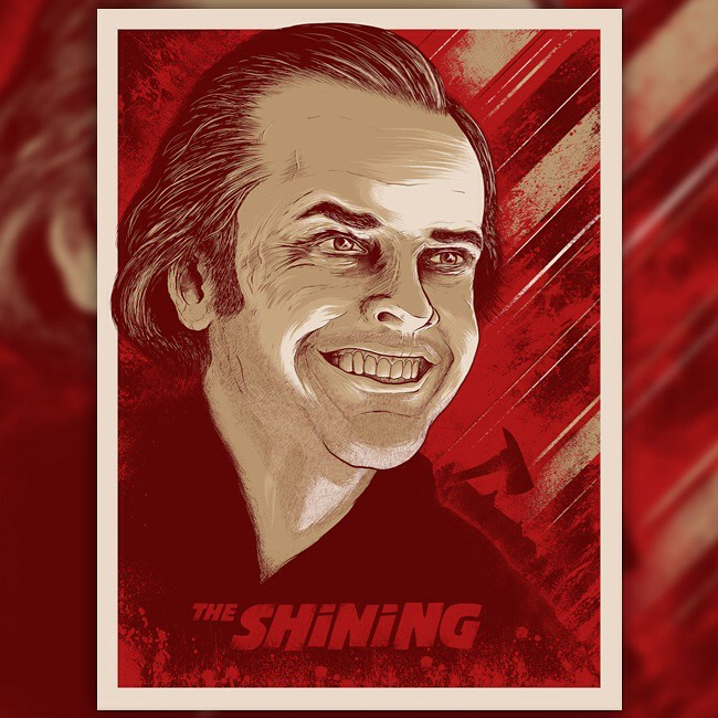 Matt Johnson The Shining Screenprint