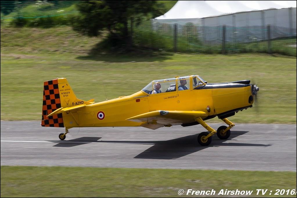 Nord 3202-B Master - F-AZND , DOMMARTIN Bertrand , Nord 3202 , F-aznd , Meribel Air Show , 2016 , meribel airshow , les 3 vallees , Méribel LFKX/MFX