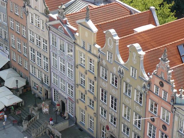 Fachadas típicas de Gdansk (qué ver en Gdansk)