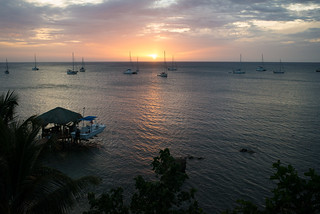 Sunset on Roatan | by goingslowly