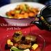 London Food Blog - Startisans, Covent Garden - Tasting Room, 'Chai Black' braised Gloucester Old Spot pork belly with blood orange, burnt leek and shaved carrot