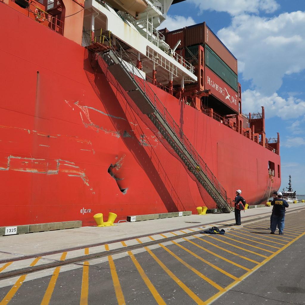 MV MONTE ALEGRE Accident In Houston Ship Channel