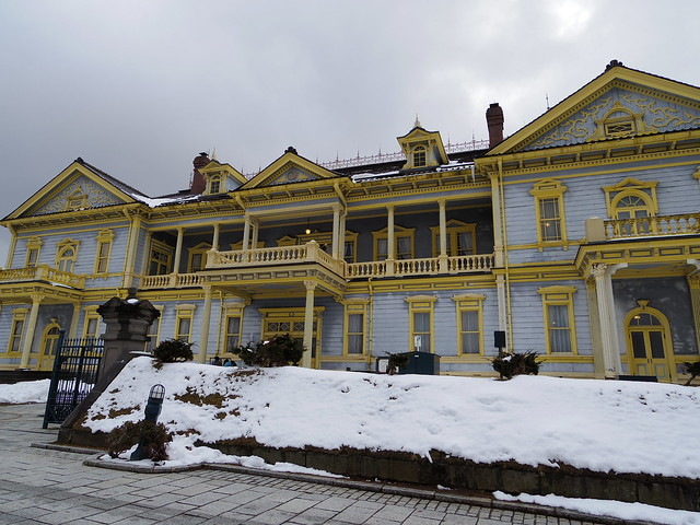 old public hall of hakodate