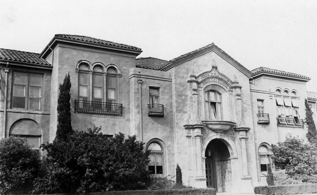 Julia Lathrop Junior High School Santa Ana Nov 1932