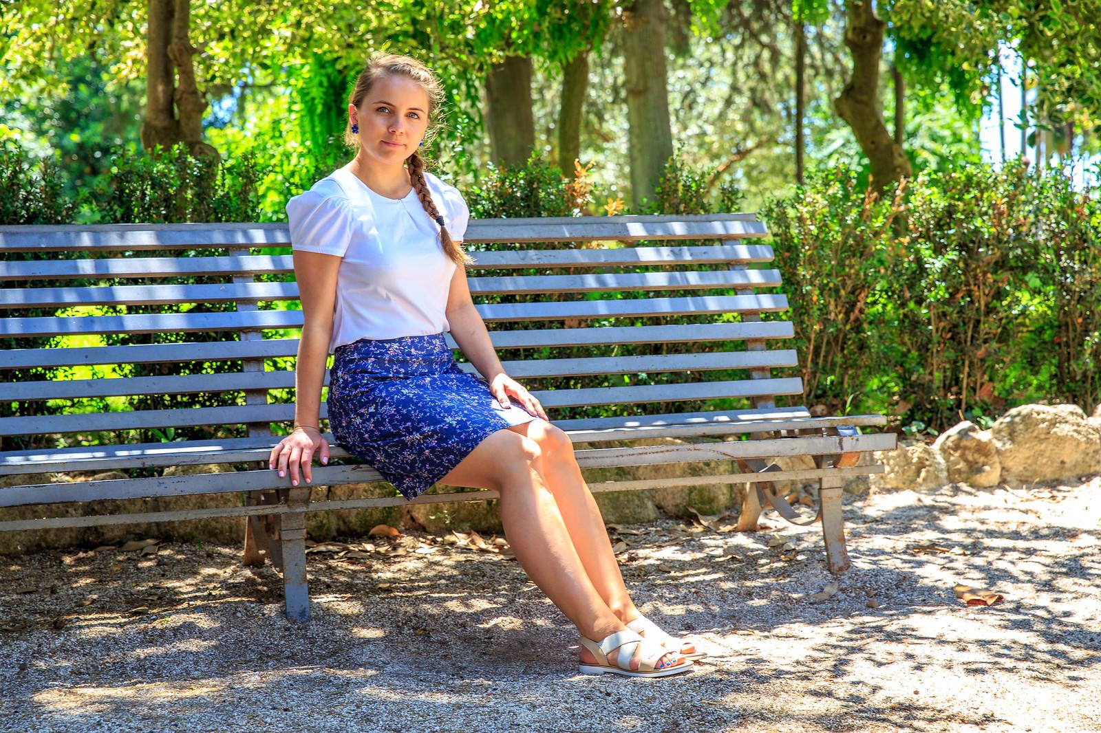 Jeans spódnica, szycie krok po kroku