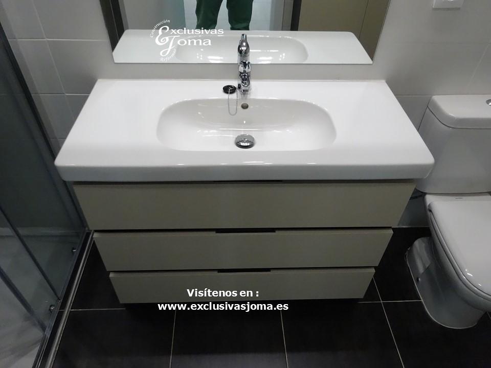 Exclusivas joma urb viteya muebles de ba o a medida 3c kyr for Mueble lavabo desague suelo