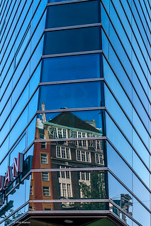 Regioplan building reflection - Amsterdam | by Phil Marion