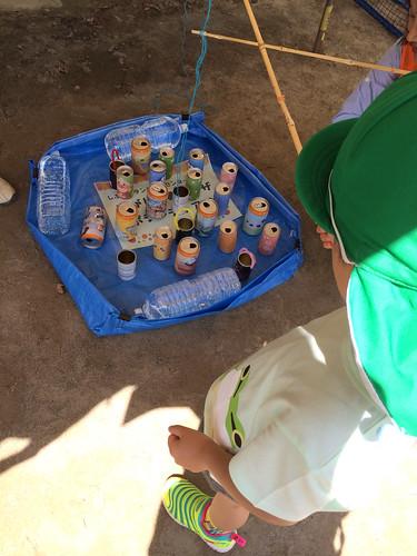 缶釣り - えびすふれあい広場2015