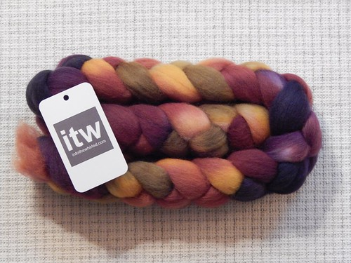 Into the Whirled Falkland, colorway Rhinebeck