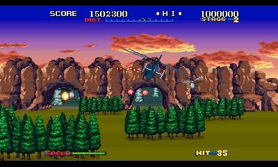 SEGA 3D CLASSICS - Thunderblade