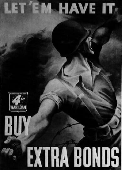 World War II Poster - Buy Extra Bonds