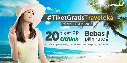 kontes blog tiket gratis traveloka - halogaga