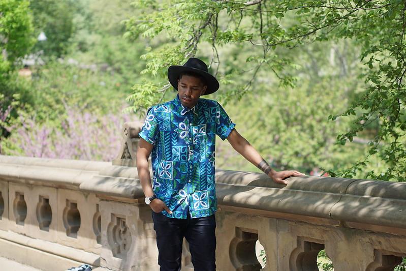 Spring Floral Shirt