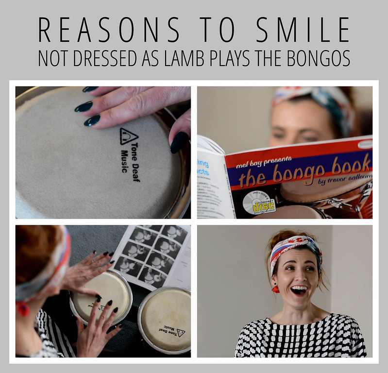 Reasons to Smile Nivea campaign | Not Dressed As Lamb plays the bongos