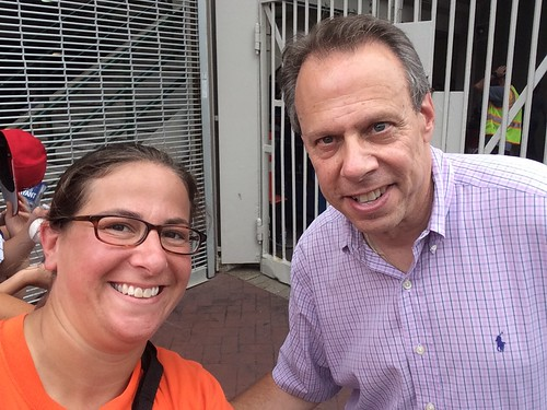 Selfie with Howie Rose!