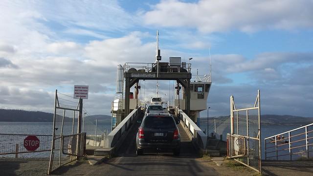 Boarding the Mirambeena