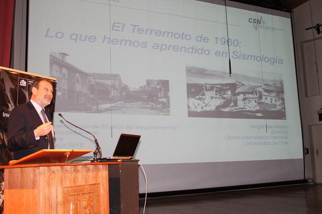 Sergio Barrientos, director del Centro Sismológico Nacional de la Universidad de Chile