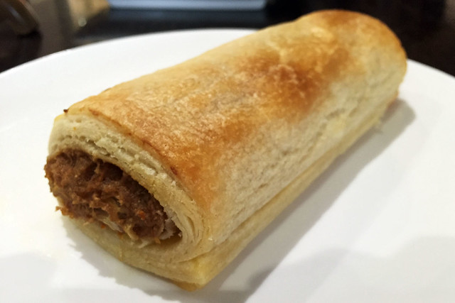Sausage roll: The Little Red Grape Bakery
