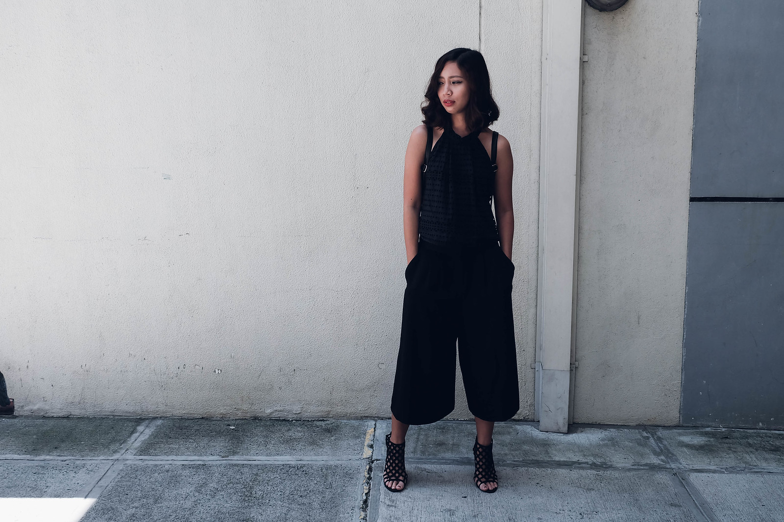 styling loose culottes