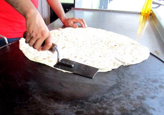 Making roti paratha 4