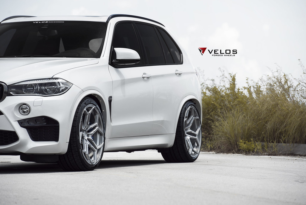 mineral white bmw f85 x5m on velos xx forged wheels flickr. Black Bedroom Furniture Sets. Home Design Ideas