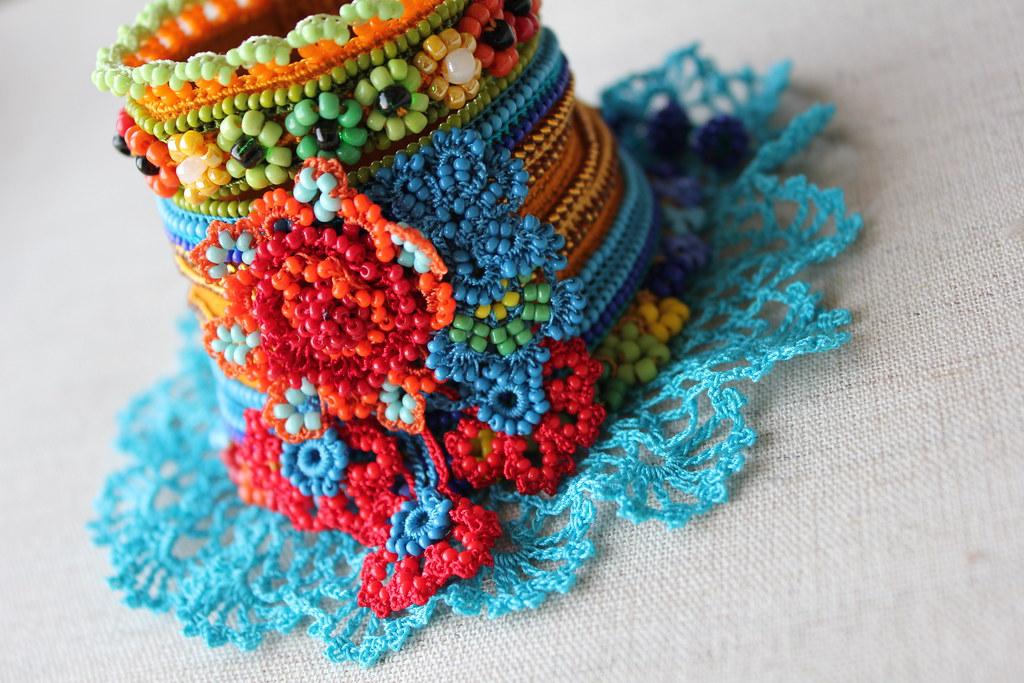 32 Crochet Bracelet Patterns The Funky Stitch