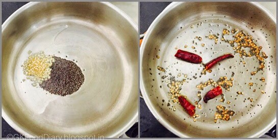 Ponnanganni Keerai Stir Fry step 1