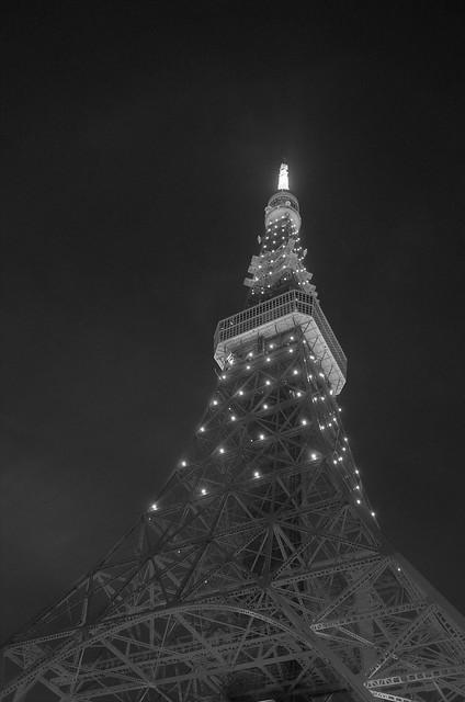 Tokyo Tower Rainbow Diamond Veil 09