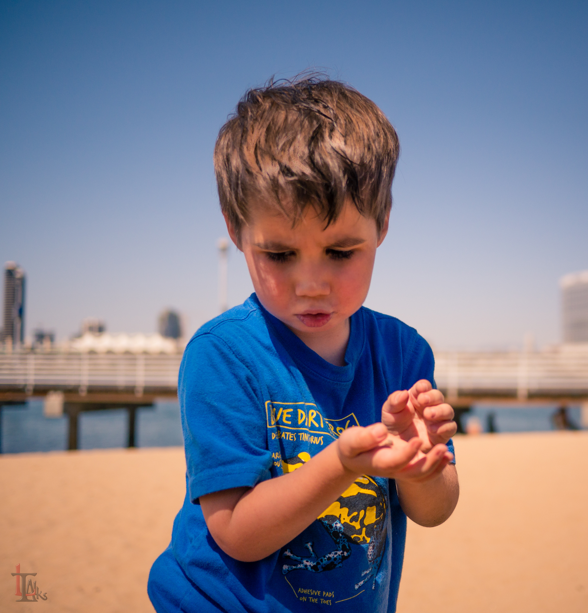 Boy. Child Portrait - Alex on Coronado