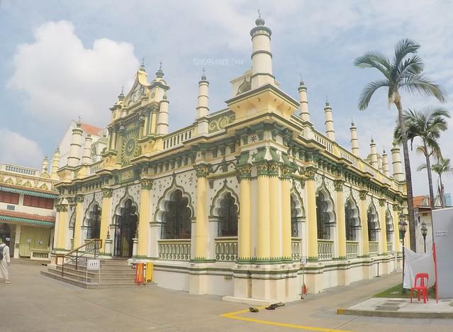 singapore heritage district little india Masjid Abdul Gafoor