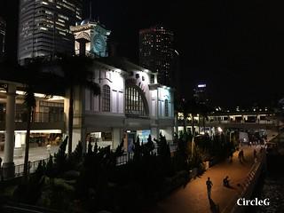 CIRCLEG 遊記 香港 中環 金鐘 夜景  (9)