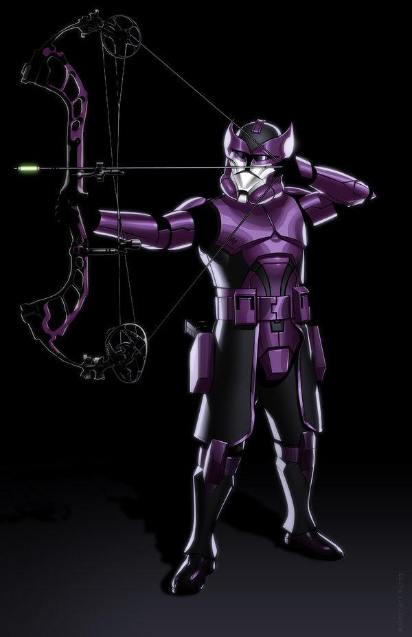 Avengers Clone Troopers Hawkeye by JonBolerjack