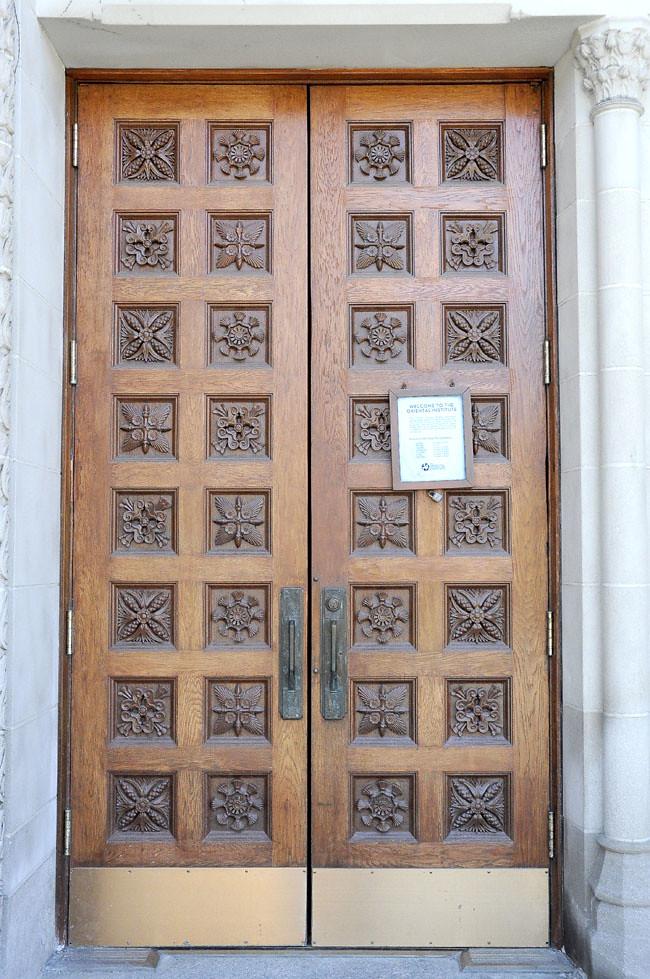 ... Carved oak doors Oriental Institute | by V. C. Wald & Carved oak doors Oriental Institute | Oriental Institute atu2026 | Flickr