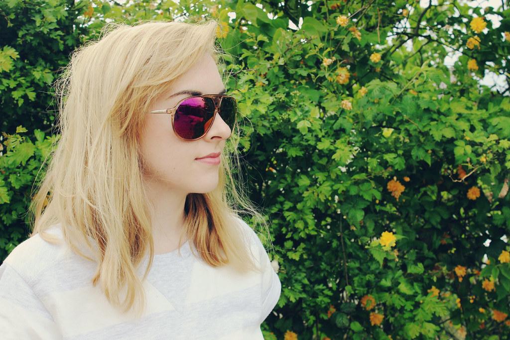 Carrera Crystal Orange Sunglasses