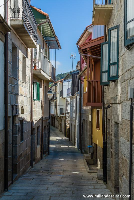 Recorriendo las calles del barrio judío de Ribadavia