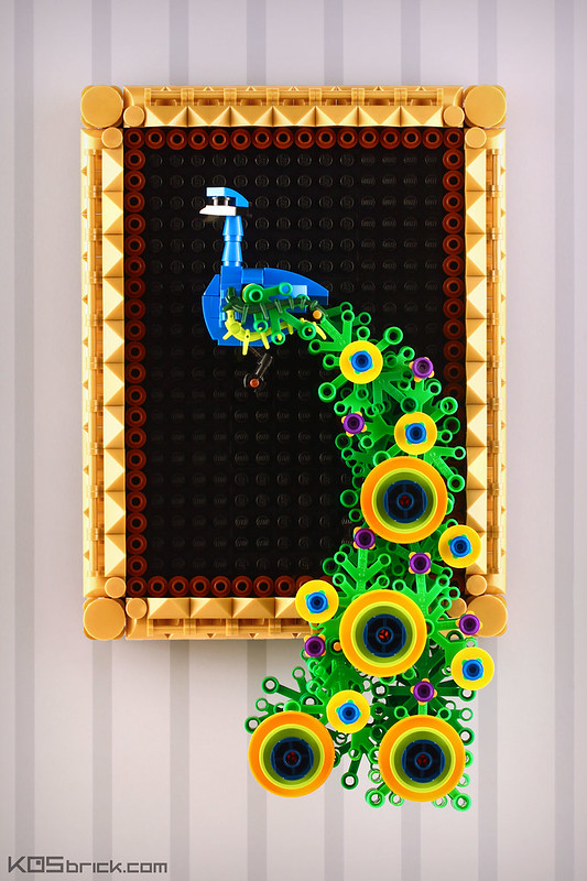 Peacock - Wall Decoration