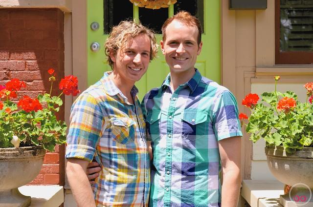 The Neighborhood: Aaron + Daniel Irving