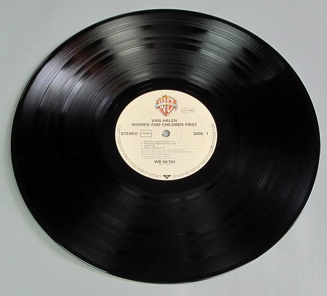 """VAN HALEN WOMEN AND CHILDREN FIRST 12"""" LP VINYL"""