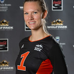 Kaitlin Lomas, WolfPack Women's Volleyball