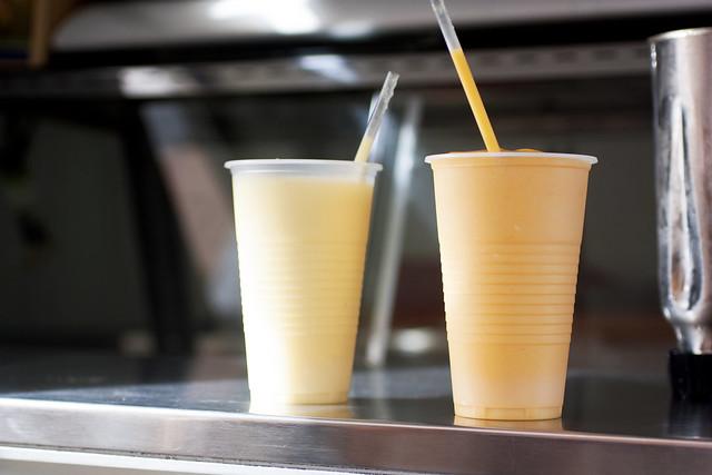 smoothies outside of plasa bieu