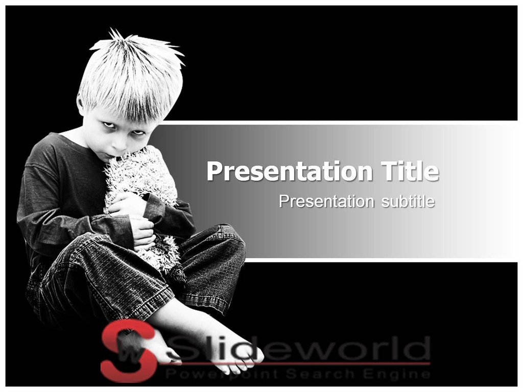 autism problem powerpoint template slide world download flickr