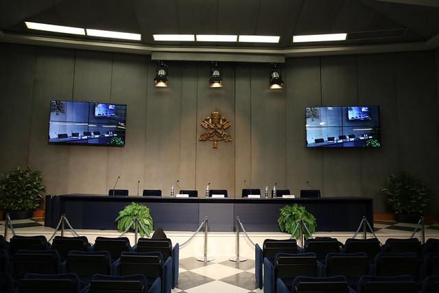 2015-04-30 CDR Sala Stampa Vaticana, presentazione del Concerto in Aula Paolo VI