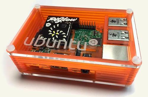 Ubuntu Orange Matchbox