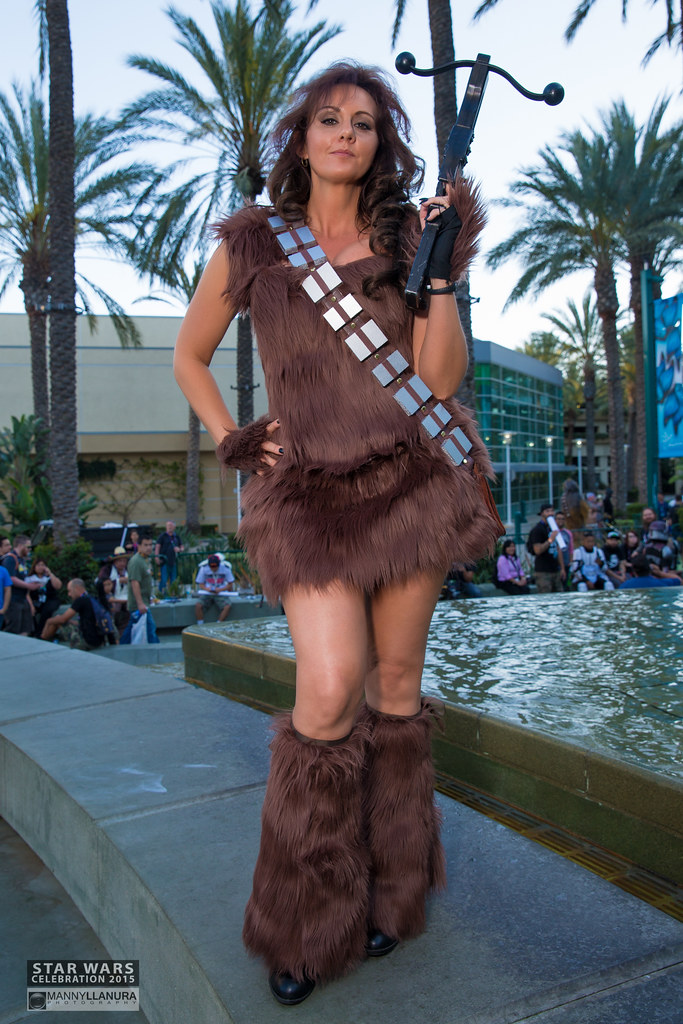 Extrêmement Star Wars Celebration 2015 Cosplay femme Chewbacca | Flickr IZ61